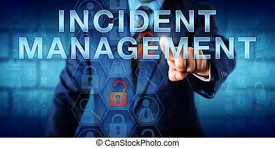 администратор, pushing, инцидент, управление