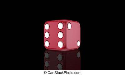 азартные игры, игральная кость, анимация, черный, задний...