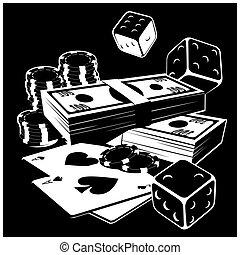 азартные игры, and, деньги