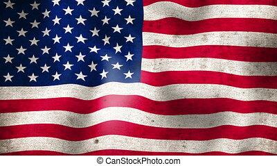 американская, flag.