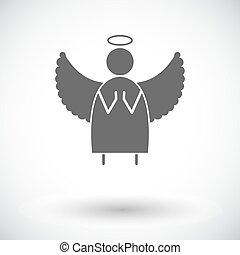 ангел, квартира, значок