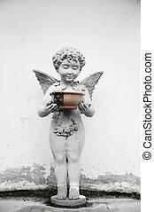 ангел, and, , святой, воды