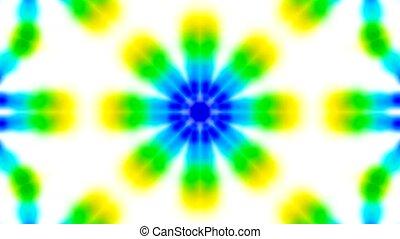 анимация, зеленый, цветок, текстура