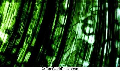 анимация, зеленый, loopable, задний план