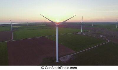 антенна, мощность, береговая линия, энергия, производство,...