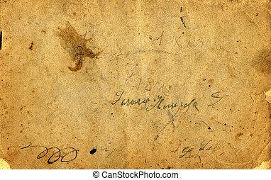 античный, бумага