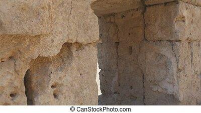 античный, город, гулять пешком, древний, perge, стена, арка, музей, воздух, через, исторический, открытый