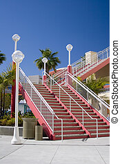 архитектурный, лестница