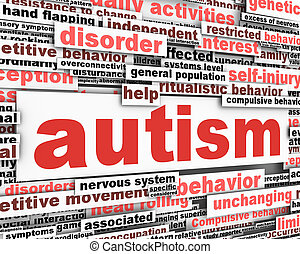 аутизм, концептуальный, дизайн