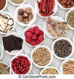 афродизиак, питание, выбор
