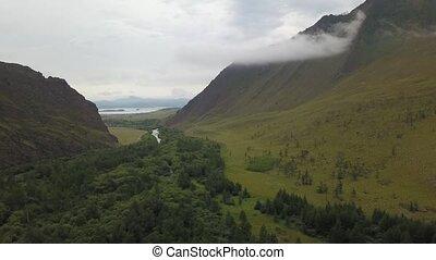 байкал, долина, озеро, сибирь, sarma, воздух, посмотреть
