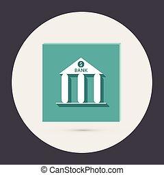 банка, building.