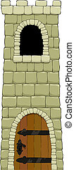 башня, мультфильм