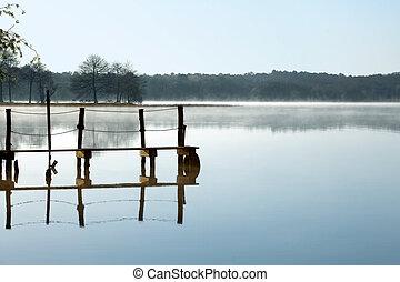 безмятежный, озеро