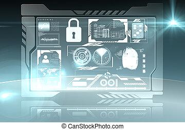 безопасность, интерфейс