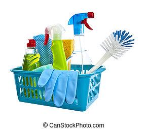 белый, продукты, уборка, задний план, assorted