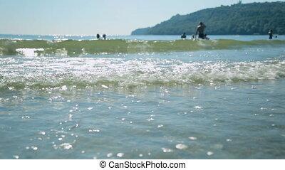 берег, день, лето