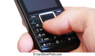 бизнесмен, -, hd, телефон