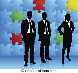 бизнес, головоломка