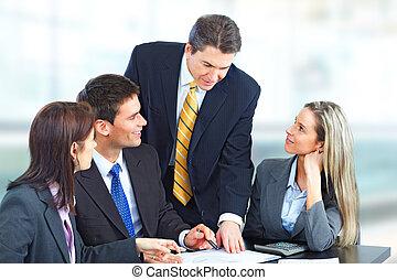 бизнес, люди, команда