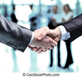 бизнес, люди, shaking, руки