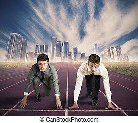 бизнес, соревнование