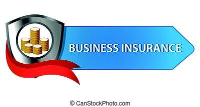 бизнес, страхование, кнопка