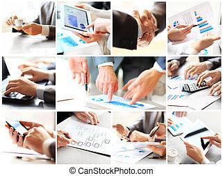 бизнес, тема, фото, коллаж