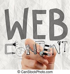 бизнес, человек, рука, рисование, web, содержание, grahic, слово, диаграмма, в виде, концепция