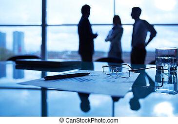бизнес, objects, на, рабочее место