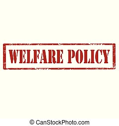 благосостояние, policy-stamp