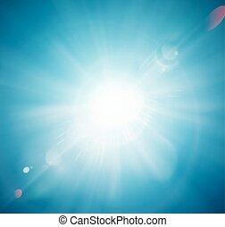 блеск, солнце