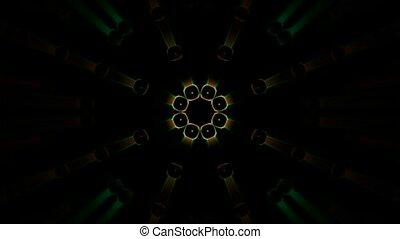 блеск, цвет, дискотека, цепь, шаблон