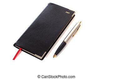 блокнот, and, ручка