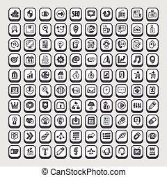 болван, web, icons