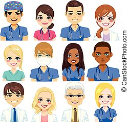 больница, аватар, команда