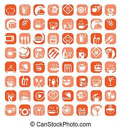 большой, цвет, кухня, icons, задавать
