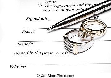 брачный, соглашение