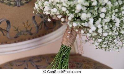 букет, марочный, свадебный, стул