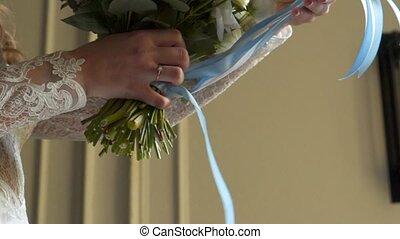 букет, невеста
