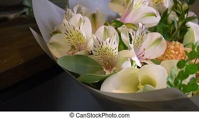букет, цветы, украшения, другие, orchids