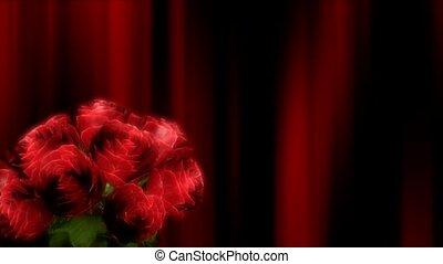 букет, roses