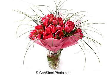 букет, tulips