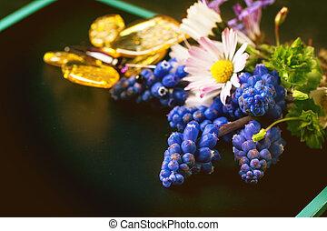 букет, wildflowers