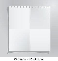 бумага, лист