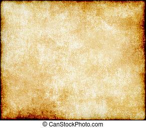 бумага, старый, или, пергамент