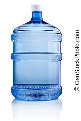 бутылка, большой, isolated, воды, задний план, белый