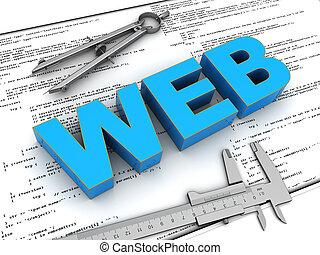 веб-сайт, строительство