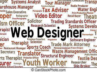 веб-сайт, web, designs, designer, означает, занятие