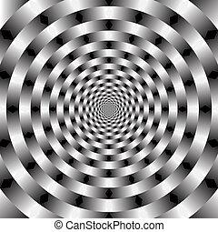вектор, оптический, изобразительное искусство